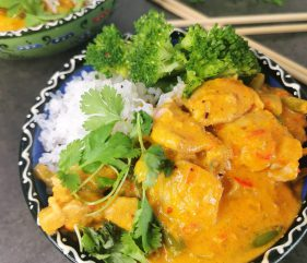 Lavkarbo kylling curry